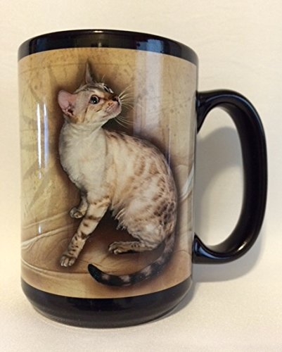 Seal Lynx Point (Snow) Bengal Cat Mug Collector Edition