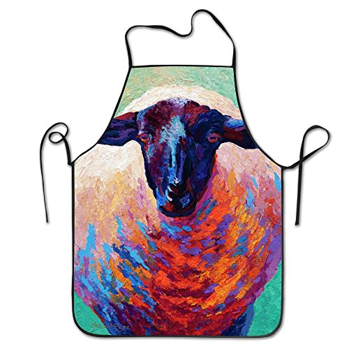 Sheep Animal Aprons For Women/men Gag Gift Barbecue Waist Cloth Chef Apron