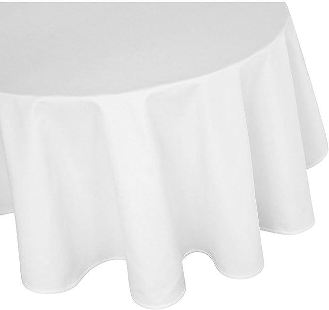 Mantel de damasco Gastro Edition, color blanco, con bordes ...