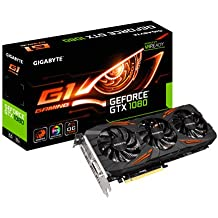 Gigabyte GeForce GTX 1080 G1 Gaming 8GB GDDR5X VR Ready WINDFORCE 3X Cooling System Graphics Card