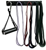 "Anazao Fitness Gear New 14"" Storage Rack for Resistance Bands (Bands not Included) and Band Accessories. Note – Exercise Bars, Handles, LAT Bar and Other Gear Sold Separately on Review"