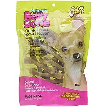Amazon.com: Fido Belly Bone Yogurt Dog Bone - Mini 21 Pack