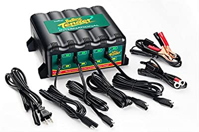 Deltran 022-0148-DL-WH Four Bank Battery Chargers