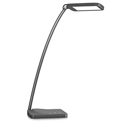 Desk Lamp,Oak Leaf Aluminum Alloy LED Desk Lamp
