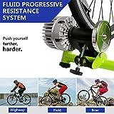 URSTAR Fluid Bike Trainer Stand, Indoor Bicycle