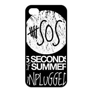 5 Seconds of Summer 5s Cases TPU Rubber Hard Soft Compound Protective Cover Case for iPhone 5 5s