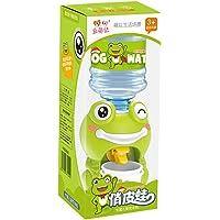 VALICLUD Mini Dispensador de Agua de Dibujos Animados en Forma de Rana Dispensador de Agua Niños Playset Accesorios para…