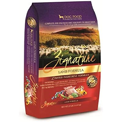 Zignature Lamb Dry Dog Food, 27 lb. Bag. Fast Delivery, by Just Jak's Pet Market