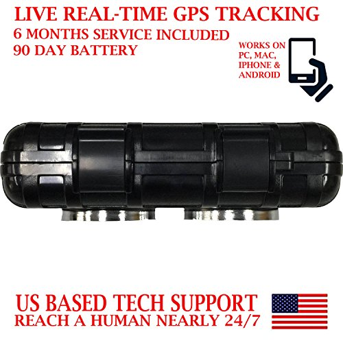 AES RGT90 GPS Tracker SMS Locator Mini Portable Vehicle Locating Tracking Device with Waterproof Magnetic Case works up to 90 days on a single charge by AES Spy Cameras (Image #9)
