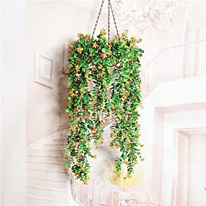 FlowersMagnate 1 Branch Dried Flower Azalea Wall Flower Artificial Flowers , white 53