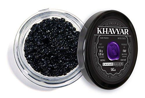 Caviar by Khavyar | Giaveri White Sturgeon Caviar