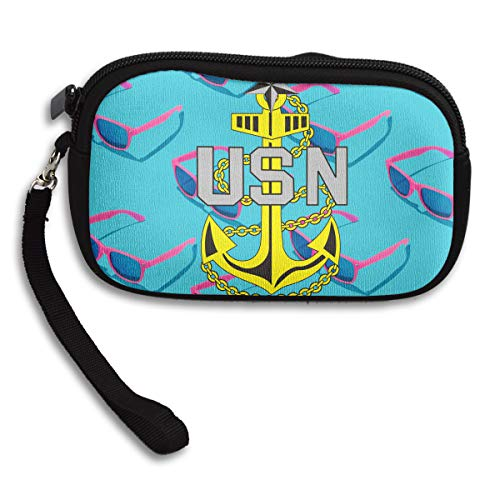 Small Receiving Us Purse Bag Printing Navy Portable Deluxe UxYqHYtrw