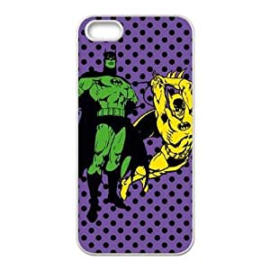 Batman Quadruple Threat iPhone 5 5s Cell Phone Case White Exquisite gift (SA_604782)
