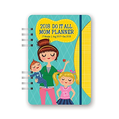 Orange Circle Studio 17-Month 2018 Do It All Planner, Mom's Do It All