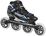 Powerslide Unisex's R2 Speed Skates-Black, Size 43