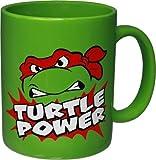 1 X Teenage Mutant Ninja Turtles Raphael Turtle Power Coffee Mug