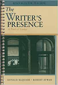 the writers presence Rent the writer's presence 8th edition instead of buying and save up to 90%  campusbookrentalscom: your textbook rental source since 2007.
