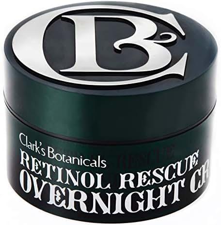 Facial Moisturizer: Clark's Botanicals Retinol Rescue Overnight Cream