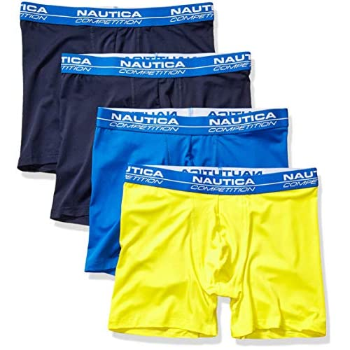 Nautica Mens Competition Comfort 5 Boxer Brief Multipack