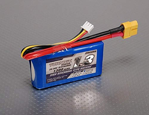 Turnigy 1300mAh 2S 20C Lipo Pack (20c Lipo Pack)