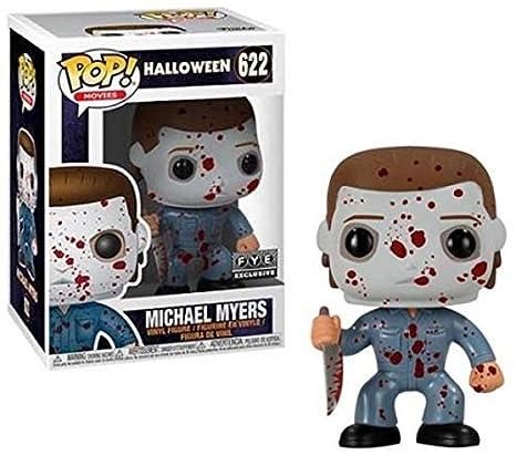 Halloween Pop.Funko Pop Movies Halloween Bloody Michael Myers Collectible Figure Multicolor