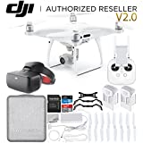 DJI Phantom 4 Pro V2.0/Version 2.0 Quadcopter Virtual Reality VR FPV POV Experience (Racing Edition) Essential Bundle