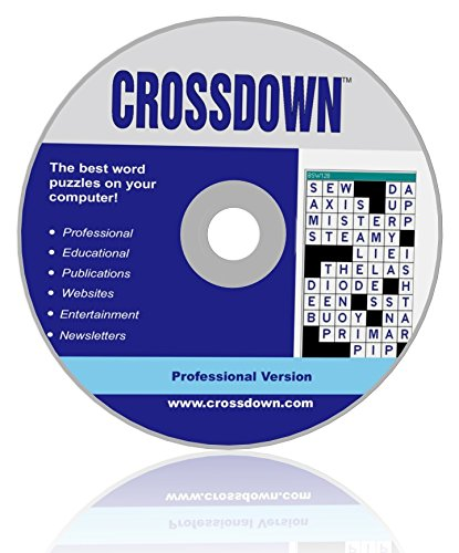 Crossdown Crossword Puzzle Maker Software for Windows