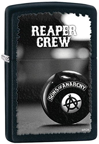 Zippo Reaper Crew Black Matte Pocket Lighter