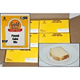 Gold Medal Pound Cake Specialty Desserts 6 Case 5 Pound