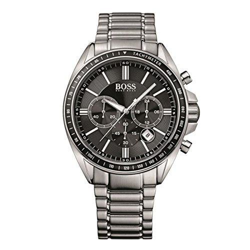 BRAND NEW Hugo Boss Men's Chronograph Black Dial Watch 1513080