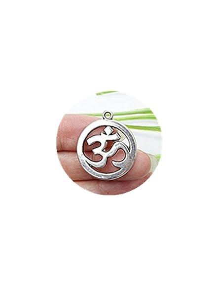 3pcs propio Encanto, antiguo plata tibetana Yoga Símbolos ...