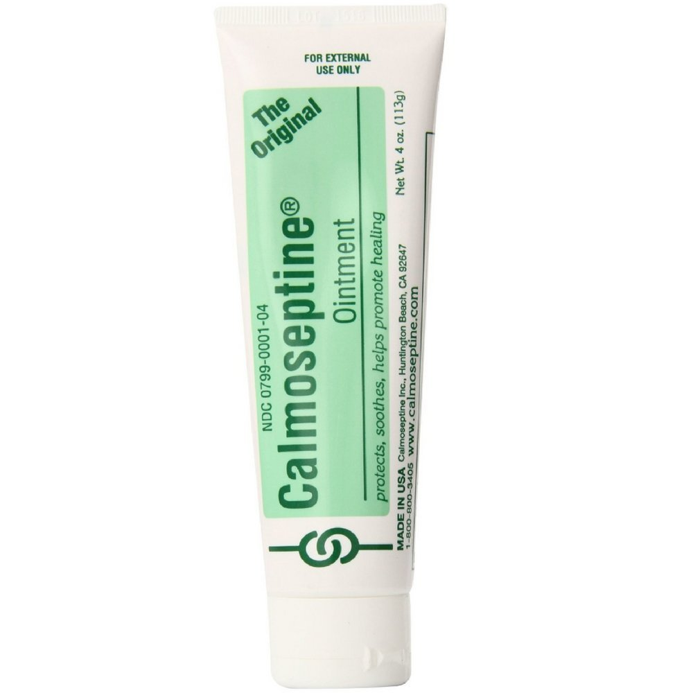 Calmoseptine Antiseptic Ointment 4 oz (Pack of 12) by Calmoseptine