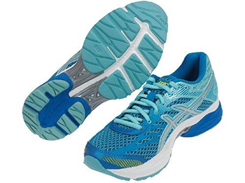 Asics zapatos Running Mujer–GEL Flux 4W–t764N-4393–diva blue/silver/Aqua splash-40