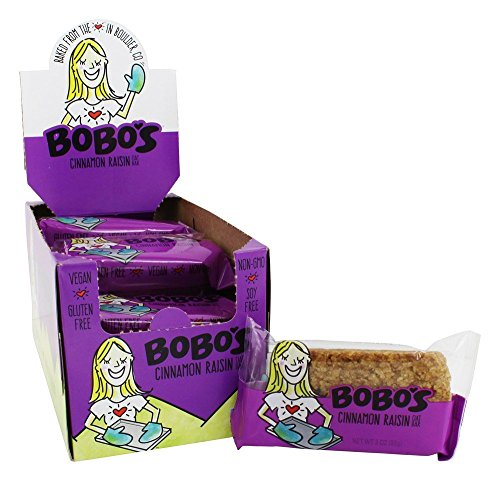 Bobo's Oat Bars - All Natural Bars Box Cinnamon Raisin - 12 Bars