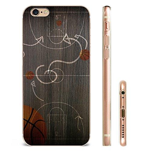 Iphone 5C Hülle SUPER-CASE iphone cover schönes Design mit Basketball offensiven und defensiven Taktiken Gemaltes iphone Hülle für IPHONE 5C