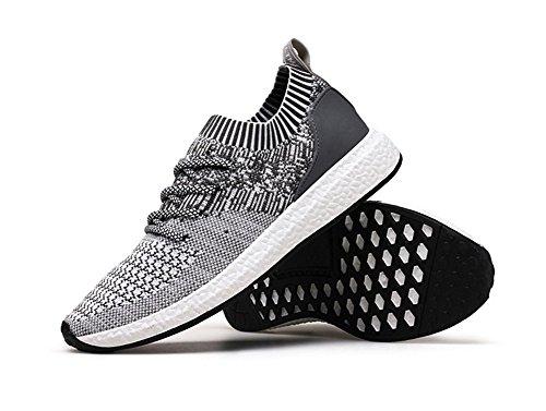 Casual Weave Respirant de Marée Chaussures de Gray xie Automne Course Sport 39 Chaussures 45 Chaussures Hommes Chaussures Light Flying Été qxt7qXwAB