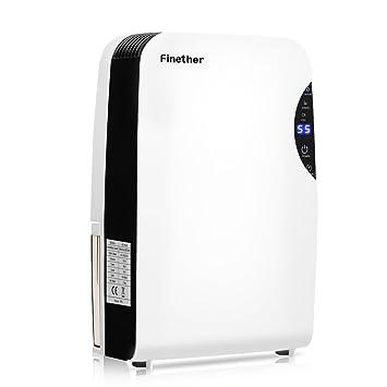 Finether Portable Air Dehumidifier Anion UV Air Purifier, 500ml/D, Quiet  And Energy