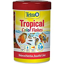TetraColor Tropical Flakes with Natural Color Enhancer, 0.42-Ounce