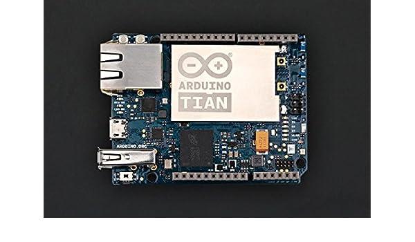 Arduino Tian (un muy procesador MIPS en de funcionamiento de hasta 533 MHz integrado y funciones IEEE802.11 N 2 x 2 2,4/5 GHz de doble banda WiFi memoria): ...