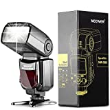 Neewer NW580 Manual Flash Speedlite with LCD Display for Canon Nikon Panasonic Olympus Pentax and Other DSLR Cameras,such as Canon7D Mark II,5D Mark II III IV,1300D,Nikon D7200,D7100,D7000,D5500,D5300