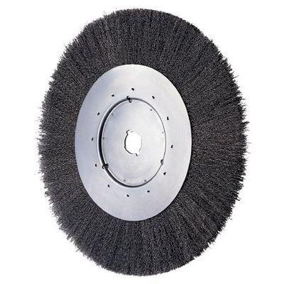 Narrow Face Wheel - Advance Brush 6 Crimped Wire Wheel Narrow Face .006 Cs Wire