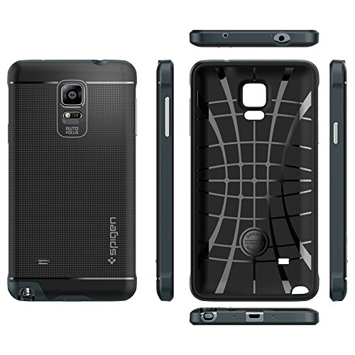 watch 15208 49a0b Spigen Neo Hybrid Galaxy Note 4 Case with Flexible Inner TPU ...
