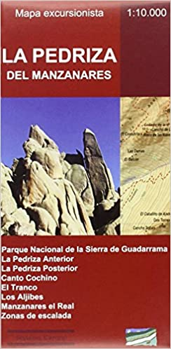 La Pedriza del Manzanares. Mapa excursionista de Alberto ...