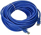 Importer520 50 Foot 50' Cat6 RJ45 Network Ethernet Lan Cable - Blue - 50 ft