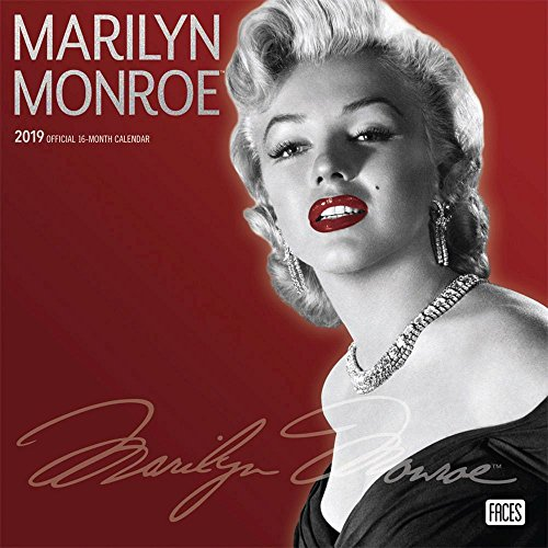(2019 Marilyn Monroe Wall Calendar, Female Movie Stars by BrownTrout)