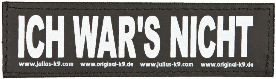 Zubehör Trixie Hunde 2 Julius-K9 Klettsticker ICH Wars Nicht!