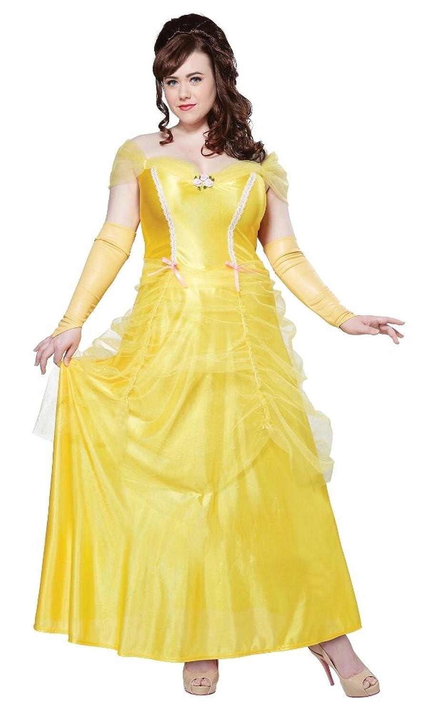 amazoncom california costumes womenu0027s plussize classic beauty long dress gown plus clothing