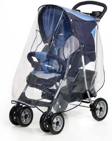 PVC free Leisure Universal Pram and Carrycot Rain Cover Large