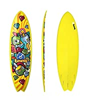 Surfboard TORQ Epoxy 6.3 Fish Space Crime