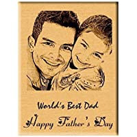 Incredible Engraved Wooden Photo Plaque